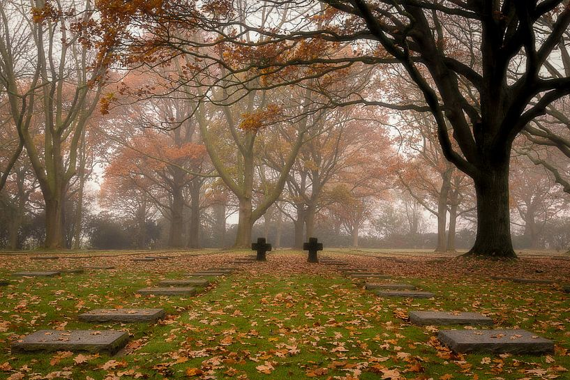 het duits kerkhof in Menen van Fotografie Krist / Top Foto Vlaanderen