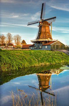 Bolwerksmolen in Deventer, Niederlande von Adelheid Smitt