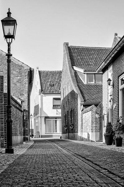 Een oud straatje in Wessem