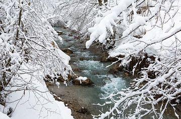 Winterrivier van Frank Herrmann
