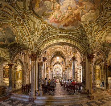 interior chiese Santa Maria dell'Ammiraglio, Palermo, Sicilia - Sicily, Italy sur Rene van der Meer