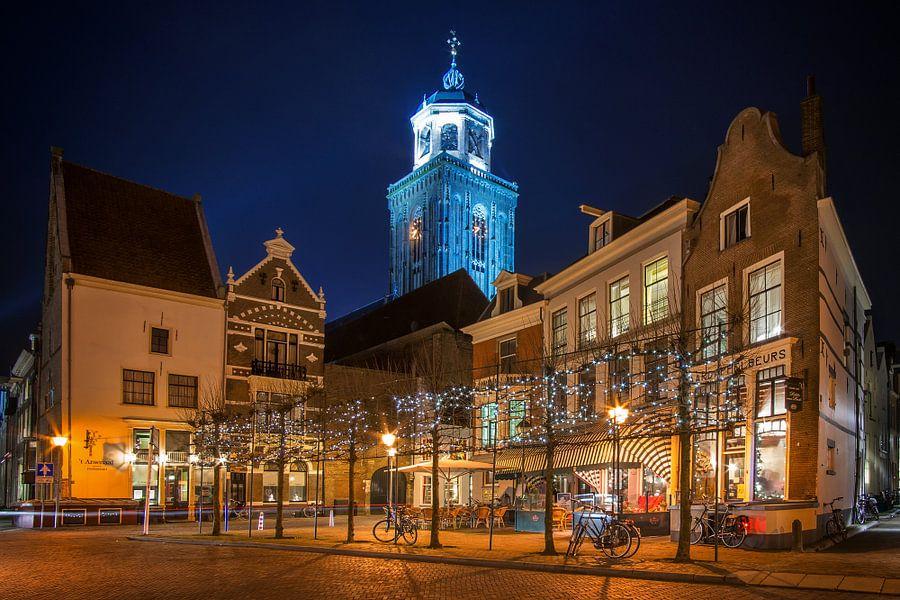 Deventer by Night van Martin Podt