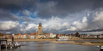 Skyline von Deventer am IJssel von Frans Lemmens
