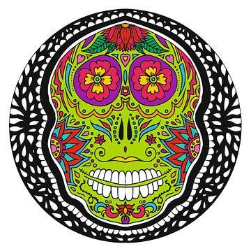Sugar Skull van Esther  van den Dool