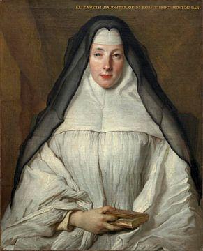 Kanonisse des Ordens der Frauen von Augustinus Anglais, Nicolas de Largillière