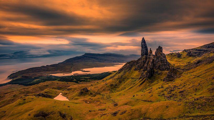 Old Man of Storr Schotland van Peter Bolman