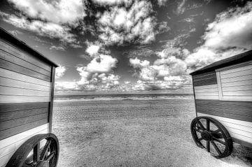 Strandcabine van