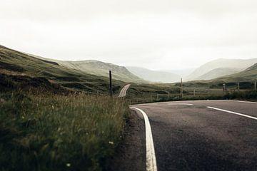 La route solitaire à Balator sur Rebecca Gruppen