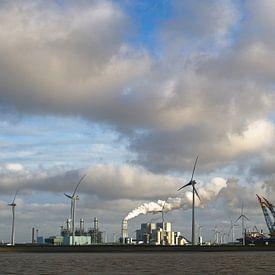 Energieke Eemshaven van Arthur de Groot