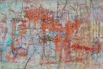 Chaotische orde van Sandra van de Griendt - Fibre Art