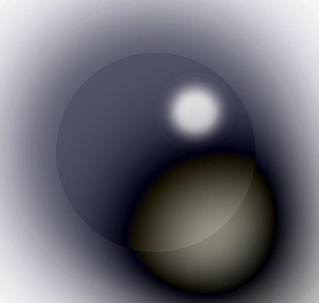 Digital bal with spotlight