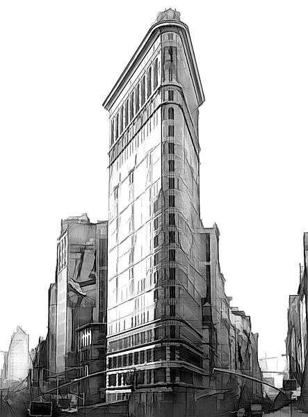 Flatiron Building van Joris Pannemans - Loris Photography