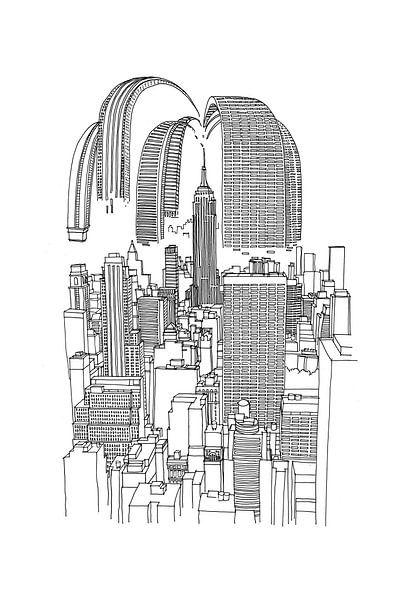 City Splash von Maarten Schets