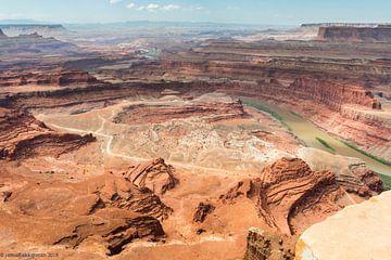 West Amerika de kleur van rood zand sur jeroen akkerman