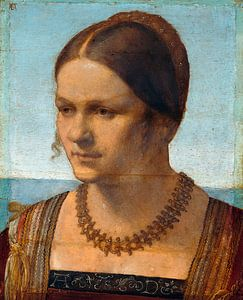Albrecht Dürer.Junge Frau aus Venedig