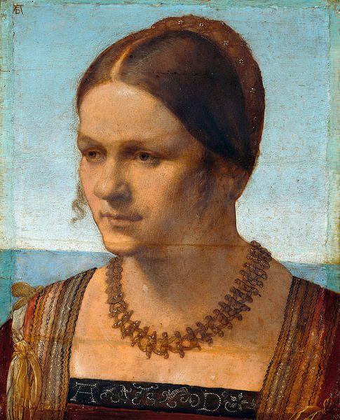 Albrecht Dürer.Junge Frau aus Venedig von 1000 Schilderijen