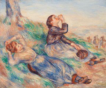 Renoir, Traubenpflücker (1888-1889)