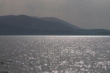Griechenland Bootsfahrt auf dem Argolischen Golf von Marianne van der Zee