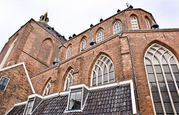 Der Aa-Kerk van achteren van Groningen Stad