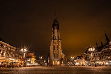 Die neue Kirche in Delft von Michael Fousert