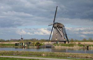 Moulins à vent de Kinderdijk : patrimoine mondial de l'Unesco sur Koolspix