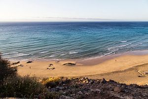 Fuerteventura in de vroege ochtend