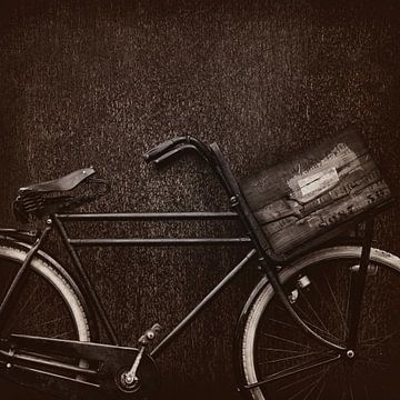 Das alte Transportfahrrad von Martin Bergsma