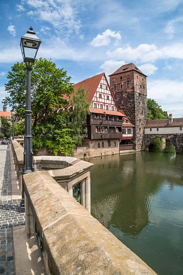NUREMBERG View from Maxbridge to Hangman?s Bridge van Melanie Viola