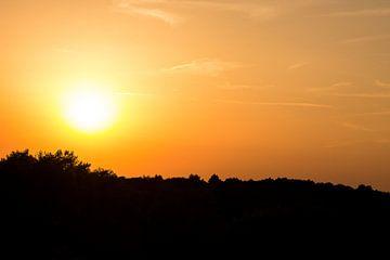 Zonsondergang in de Duinen van