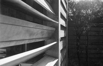 Een gekke houten constructie von Melvin Meijer