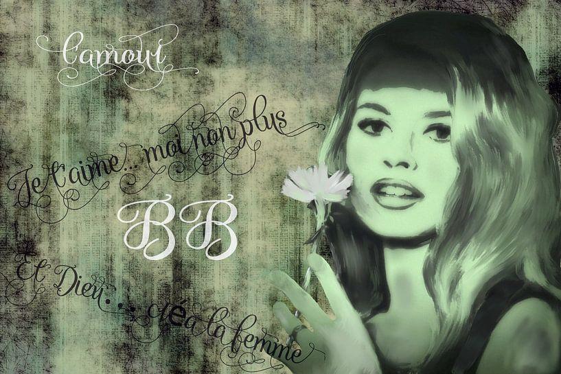 Brigitte Bardot von Christine Nöhmeier