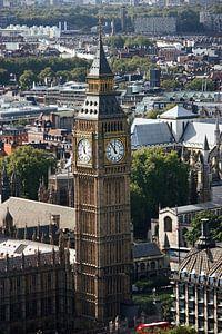 London ... city view with big ben van