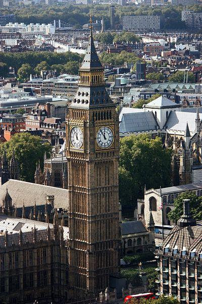 London ... city view with big ben van Meleah Fotografie