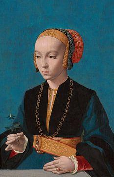 Porträt von Elisabeth Bellinghausen, Bartolomäus Bruyn