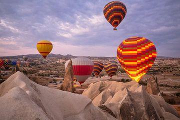 Heißluftballons über Kappadokien von Achim Thomae