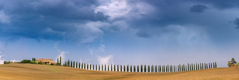 Agriturismo Poggio Covili, Tuscany, Italy van Henk Meijer Photography