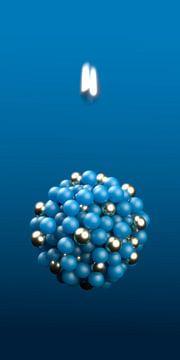 elementaire deeltjesbombardementen van Jörg Hausmann