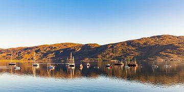 Ullapool in den Highlands von Schottland von Werner Dieterich