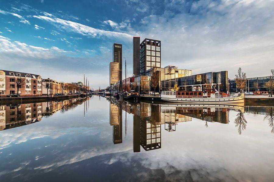 Skyline van Leeuwarden van Harrie Muis