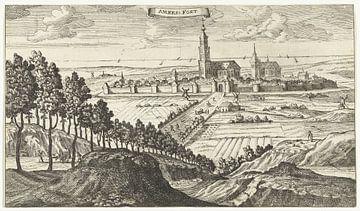 Ansicht von Amersfoort, Gaspar Bouttats, nach Jacob Peeters, 1679