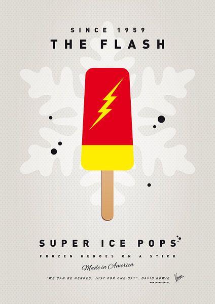 My SUPERHERO ICE POP - The Flash