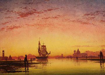 Venedig, ein Novemberabend in der Lagune