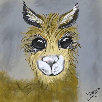 Lama von Monique Schilder