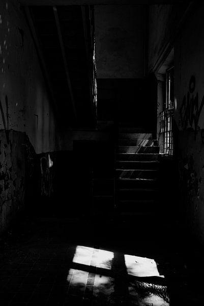 Verlassenes Treppenhaus von Iritxu Photography