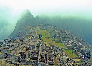 Machu Picchu van Gert-Jan Siesling