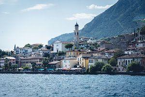 Limone Sul Garda aan het gardameer in Italië