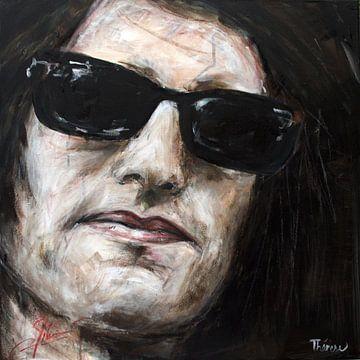 Portrait von Frans van Zoest (Spike), Gitarrist von DI-rect. von Therese Brals