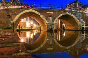 Vollersbrug over de Oudegacht Utrecht