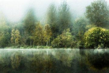 50 Schattierungen von Grün (Landschaft, Malerei)
