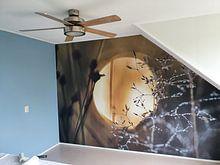 Klantfoto: Zonsopkomst van Marjo Kusters, als behang